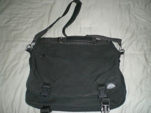 My Eagle Creek messenger bag.